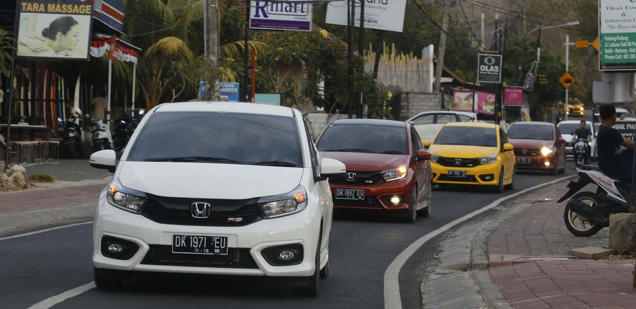 All New Honda Brio meraih penjualan sebanyak 6.703 unit sepanjang bulan Oktober